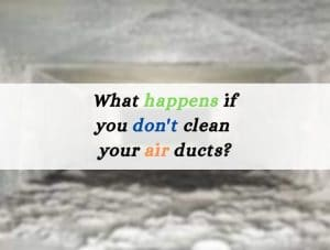 Why to clean air ducts